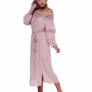 ABS Collection Off Shoulder Midi Dress Medium NWT